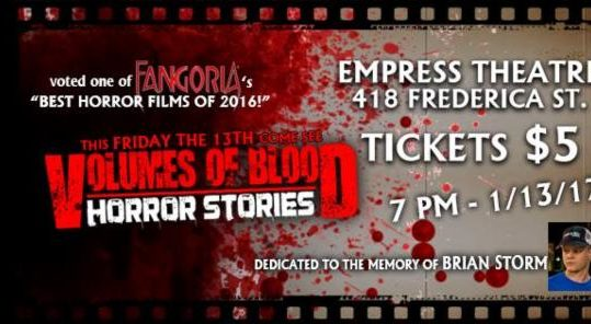 Volumes of Blood, Horror Stories
