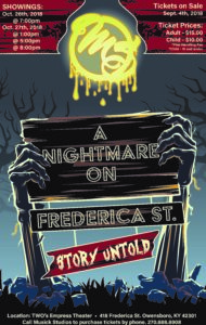 A Nightmare on Frederica St: Story Untold @ The Empress | Owensboro | Kentucky | United States