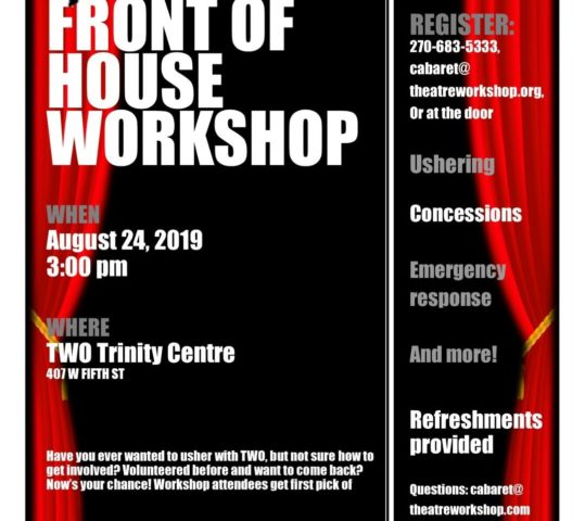 TWO Front Of House Workshop